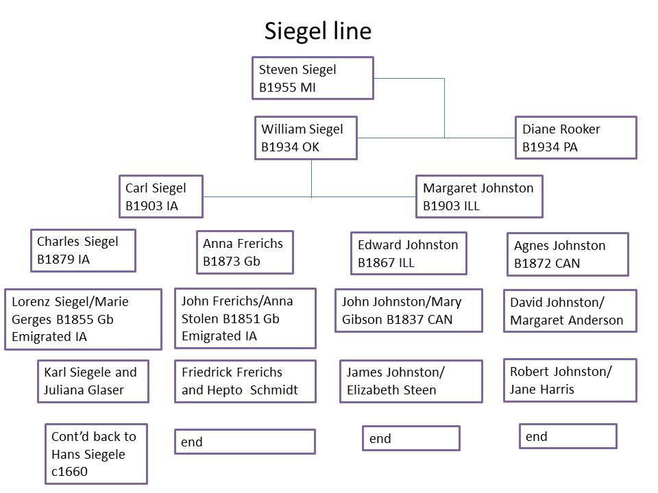 siegel lineage